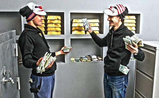 Ограбление Банка квест Одесса
