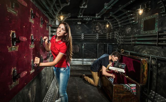 Свидание в квест комнате в Одессе